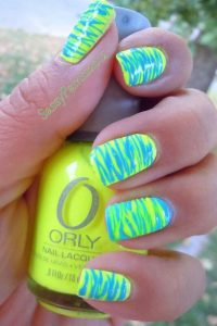 Colorful Summer Nail Idea