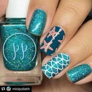 Cool Summer Nail Design
