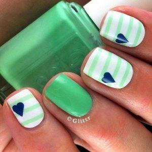 Cute Summer Nail Design. From clotee.com
