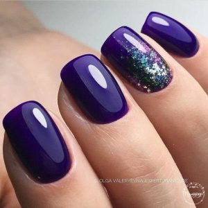 Dark Nail Color For Summer