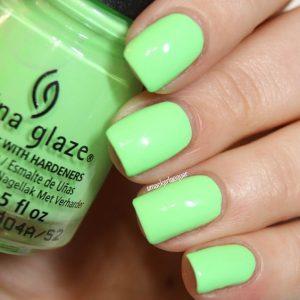 Neon Hot Summer Nails