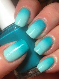 Ombre Tosca Nails Design