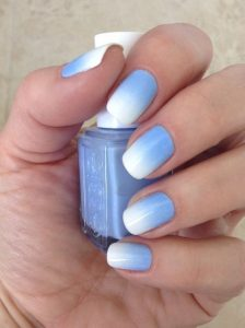 Ombre Blue Sky For Summer
