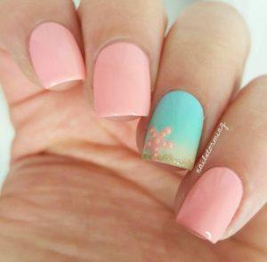 Pastel Summer Nails
