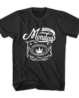T-Shirt I Hate Monday Typography