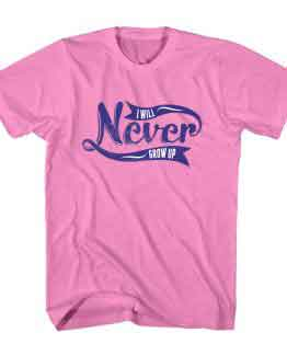 T-Shirt Never Give Up Typography