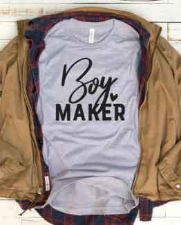 T-Shirt Boy Maker Mom Life