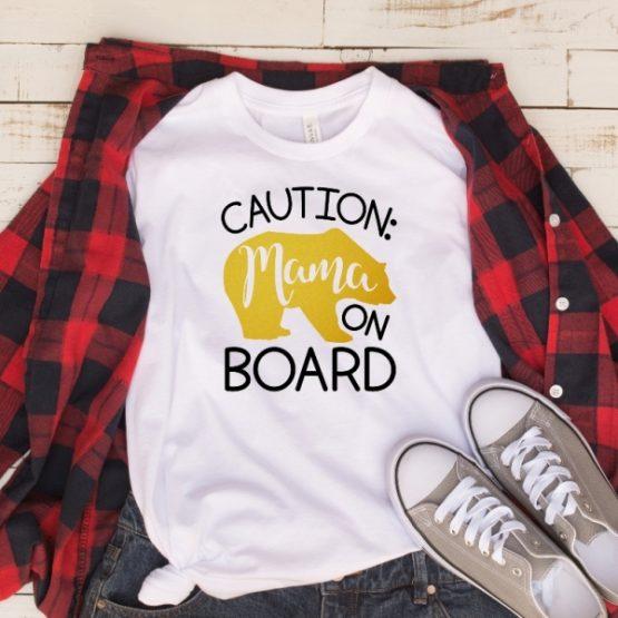 T-Shirt Mama Bear On Board