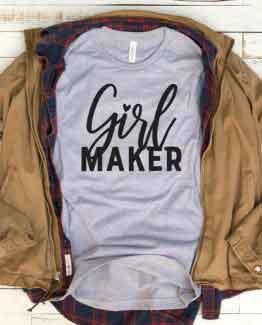 T-Shirt Girl Maker Mom Life