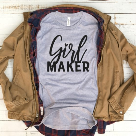 T-Shirt Girl Maker Mom Life