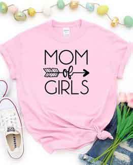 T-Shirt Mom Of Girls Mom Life