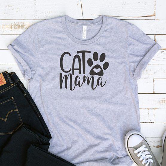T-Shirt Cat Mama Pet Lover