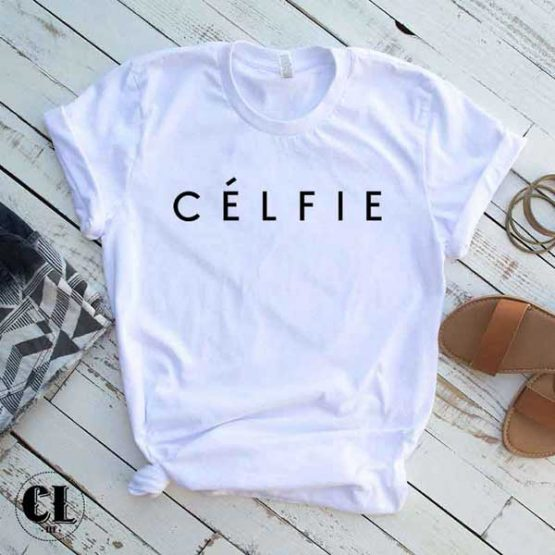T-Shirt Celfie by Clotee.com Tumblr Aesthetic Clothing
