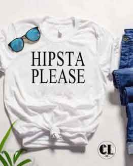 T-Shirt Hipsta Please by Clotee.com Tumblr Aesthetic Clothing