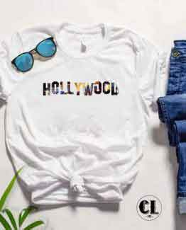 T-Shirt Hollywood by Clotee.com Tumblr Aesthetic Clothing