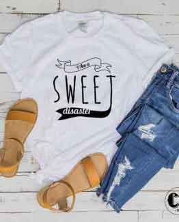 T-Shirt I Am a Sweet Disaster by Clotee.com Tumblr Aesthetic Clothing