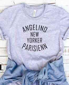 T-Shirt Angelino New Yorker Parisienn