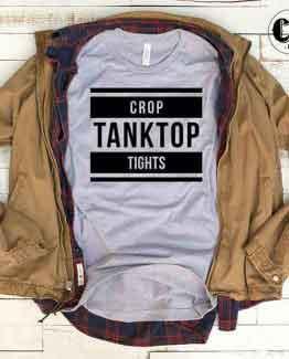 T-Shirt Crop Tanktop Tights