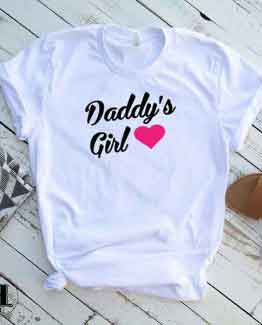 T-Shirt Daddy's Girl by Clotee.com Tumblr Aesthetic Clothing