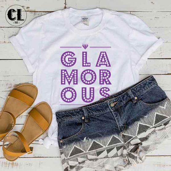 T-Shirt GLAMOROUS by Clotee.com Tumblr Aesthetic Clothing