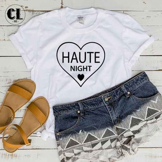 T-Shirt Haute Night by Clotee.com Tumblr Aesthetic Clothing