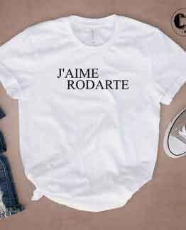 T-Shirt J'Aime Rodarte by Clotee.com Tumblr Aesthetic Clothing