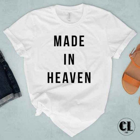 T-Shirt Made In Heaven by Clotee.com Tumblr Aesthetic Clothing