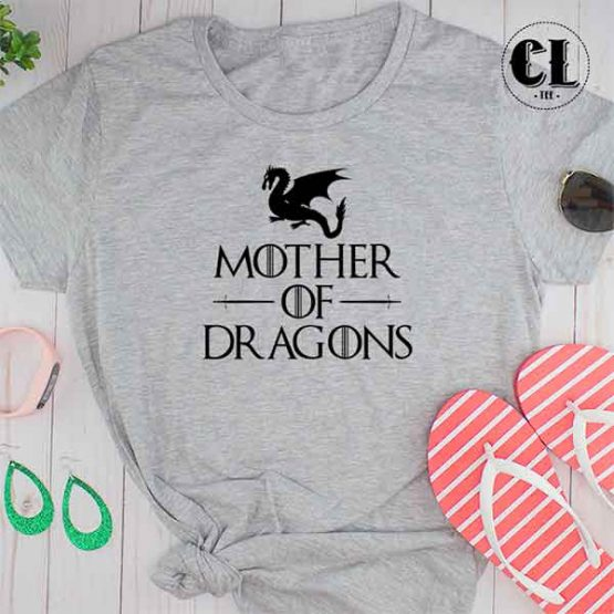 T-Shirt Mother Of Dragons by Clotee.com Tumblr Aesthetic Clothing