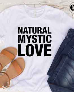 T-Shirt Natural Mystic Love by Clotee.com Tumblr Aesthetic Clothing