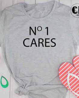 T-Shirt No 1 Cares by Clotee.com Tumblr Aesthetic Clothing