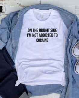 T-Shirt On The Bright Side by Clotee.com Tumblr Aesthetic Clothing