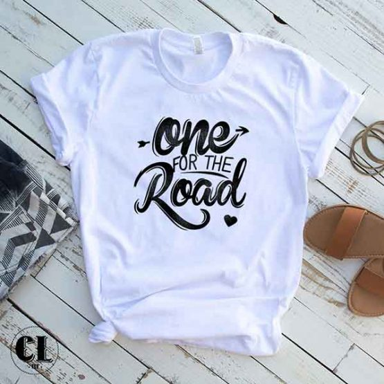 T-Shirt One For The Road by Clotee.com Tumblr Aesthetic Clothing