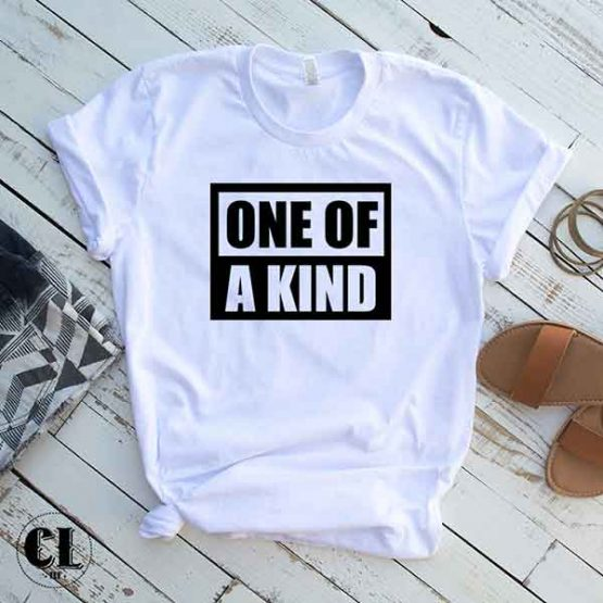 T-Shirt One Of A Kind by Clotee.com Tumblr Aesthetic Clothing