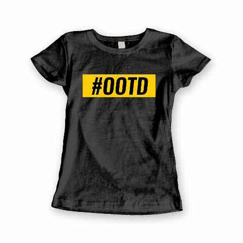 T-Shirt OOTD men women round neck tee. Printed and delivered from USA or UK.
