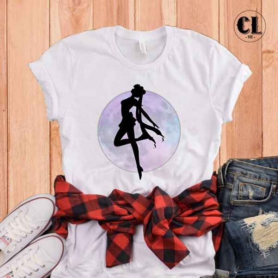 T-Shirt Sailor Moon Silhouette