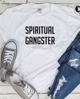 T-Shirt Spiritual Gangster by Clotee.com Tumblr Aesthetic Clothing