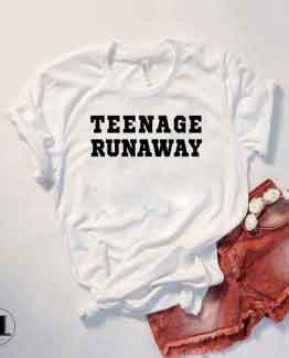 T-Shirt Teenage Runaway by Clotee.com Tumblr Aesthetic Clothing