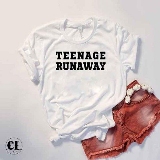 T-Shirt Teenage Runaway by Clotee.com Tumblr Aesthetic Clothing