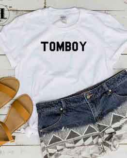 T-Shirt Tomboy by Clotee.com Tumblr Aesthetic Clothing