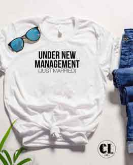 T-Shirt Under New Management by Clotee.com Tumblr Aesthetic Clothing