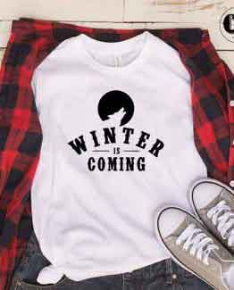 T-Shirt Winter Is Coming by Clotee.com Tumblr Aesthetic Clothing