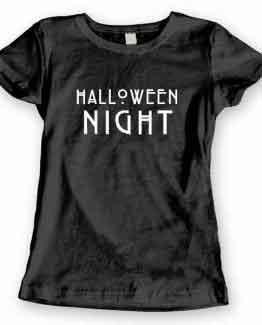T-Shirt Halloween Night