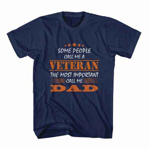 T-Shirt Some People Call Me A Veteran by Clotee.com Senior Life, Funny Grandpa, Best Grandfather