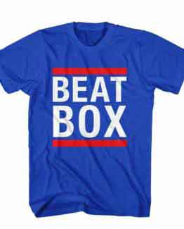T-Shirt Beat Box, Youtuber T-Shirt men women youtuber influencer tee. Printed and delivered from USA or UK.
