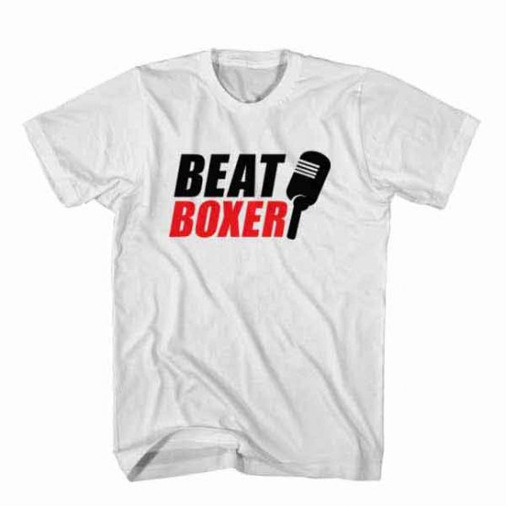 T-Shirt BeatBoxer, Youtuber T-Shirt men women youtuber influencer tee. Printed and delivered from USA or UK.