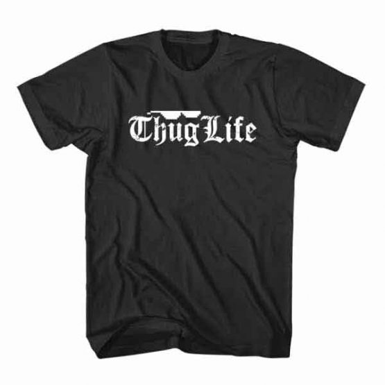 T-Shirt Thug Life, Youtuber T-Shirt men women youtuber influencer tee. Printed and delivered from USA or UK.