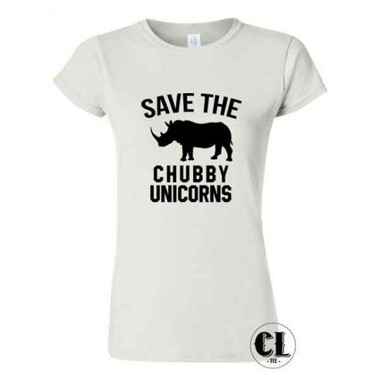 Save Chubby Unicorns T-Shirt