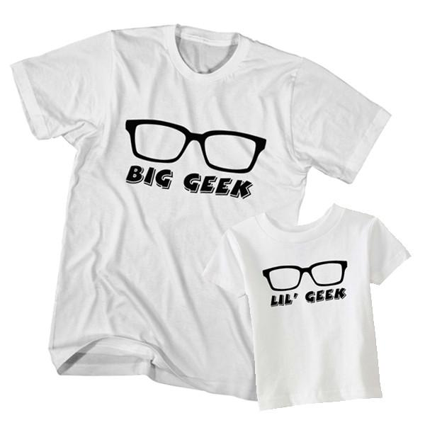 Big Geek Little Geek t-shirt