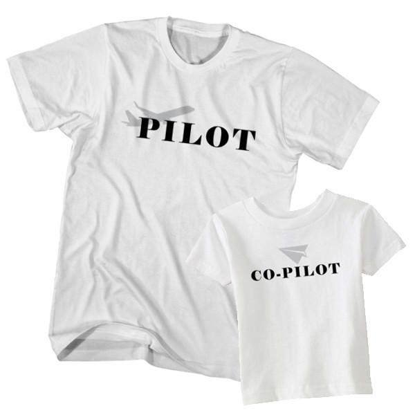 Pilot and Co-pilot t-shirt