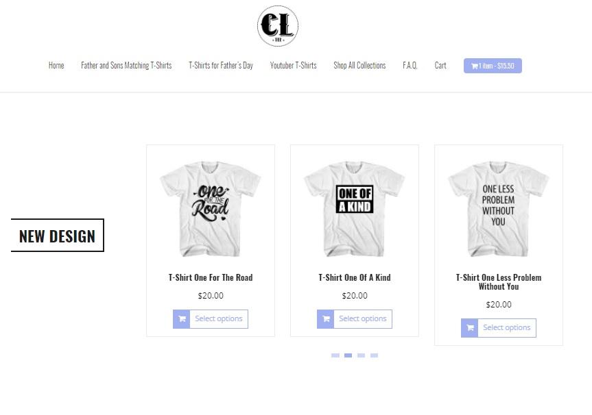 redesign website clotee.com